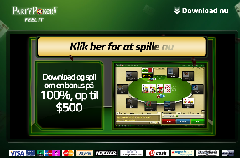 Påbegynd Download ved at gå til Party Poker